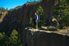 Rock Climbing Photo: NM, cochiti mesa