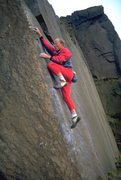 Rock Climbing Photo: Simon almost passed the crux on Technical Master, ...