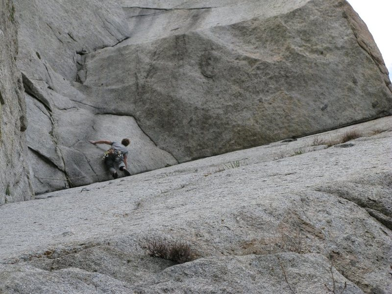 Rock Climbing Photo: Climbing Split Fingers.  A really, really good rou...