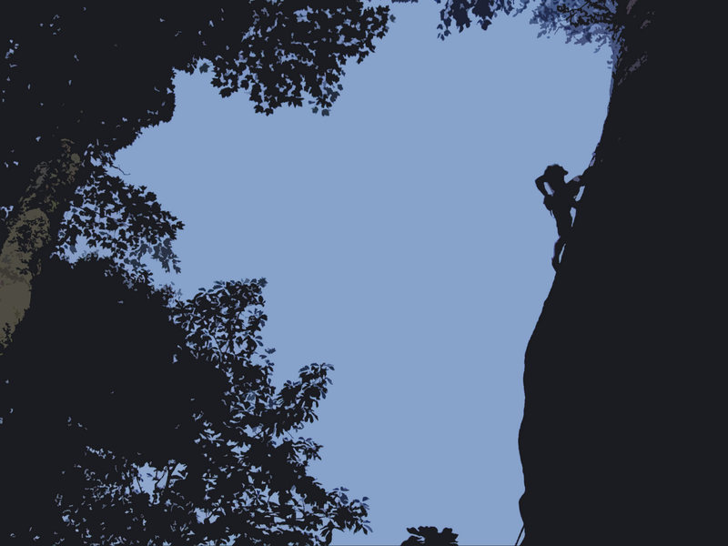 Rock Climbing Photo: New River Gorge! bridge buttress