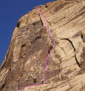 Rock Climbing Photo: This is a view of the main part of the Kaleidoscop...