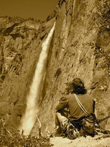 Rock Climbing Photo: Yosemite Falls