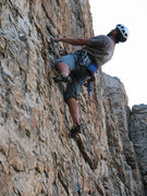 "Rock Climbing Photo: ""Hey! Where'd all the big holds go?""  Jo..."