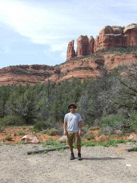 Rock Climbing Photo: Joe psyched to climb the Mace