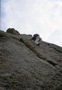 Rock Climbing Photo: Pear Buttress: The Book, Lumpy Ridge 1978  Wendy W...