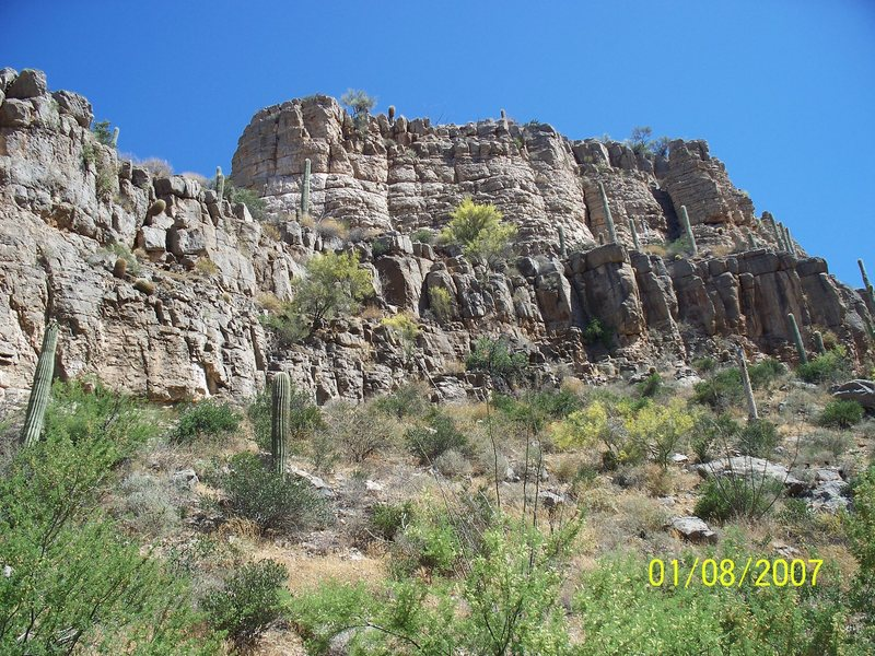 Southern AZ climbing