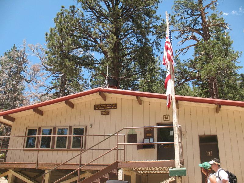 Rock Climbing Photo: Long Valley Ranger Station, Tramway