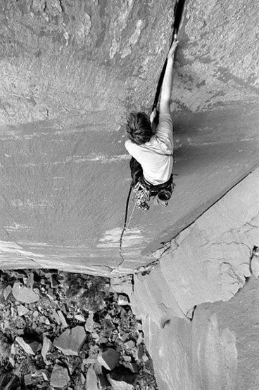 Rock Climbing Photo: Unknown crack at the Creek.