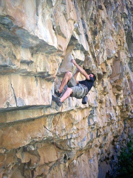 Rock Climbing Photo: Jerad on American Prayer.