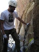 Rock Climbing Photo:  anchor point