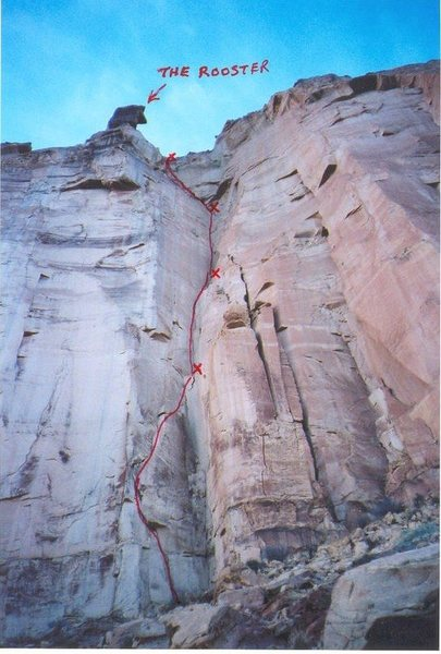 Rock Climbing Photo: The Route
