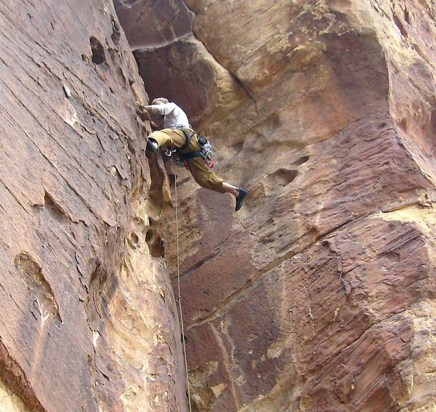 Rock Climbing Photo: Inspired climbing!