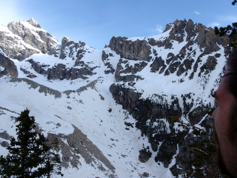 Rock Climbing Photo: Mt Owen on the right from Amphitheater Lake