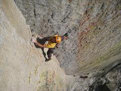 Rock Climbing Photo: Filip sends the beautiful corner of Oz.