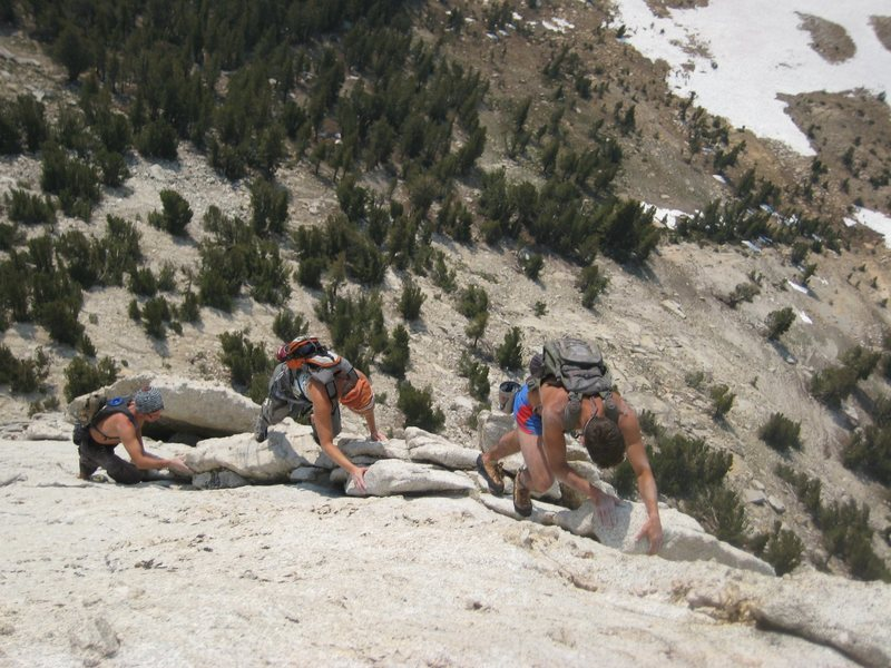 Rock Climbing Photo: April, Filip, and Alberto solo train their way up ...