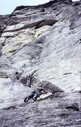 Rock Climbing Photo:  Dave Evans on the Cooper-Hiser Photo;  Todd Gordo...