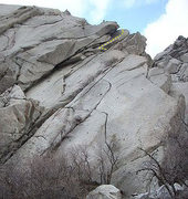 Rock Climbing Photo: Red Neck Slab