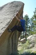 Rock Climbing Photo: Jason Kaplan enjoying the crowd free bouldering.
