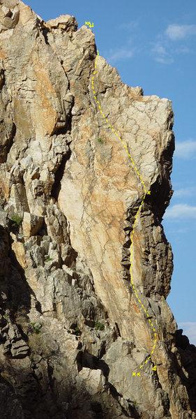 Rock Climbing Photo: George 5.9
