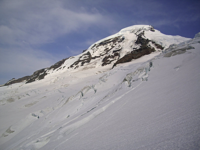 Rock Climbing Photo: Mt. Baker from the North. From right to left: Cole...