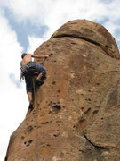Rock Climbing Photo: Penatente Canyon, CO (some 5.10 that has great hue...