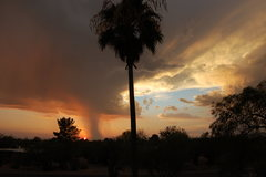 stormy sunset, july 3, '08
