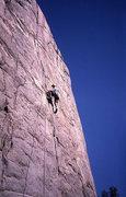 Rock Climbing Photo: Kevin Bransford on Iris Slab.   Photo;  Todd Gordo...