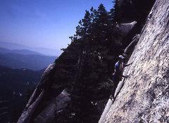 Rock Climbing Photo: Sunshine Face.   Photo Todd Gordon Collection