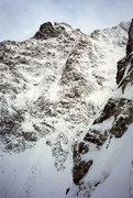 Rock Climbing Photo: Niznie Rysy massif from Korosadowicz route on Kaza...