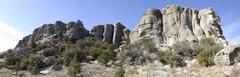 Rock Climbing Photo: Breadloaves in the morning sun.