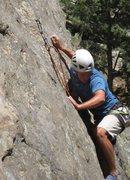 Rock Climbing Photo: Climbing in Clear Creek.