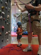 "Rock Climbing Photo: ""Hey, she doesn't weigh enough to pull this r..."