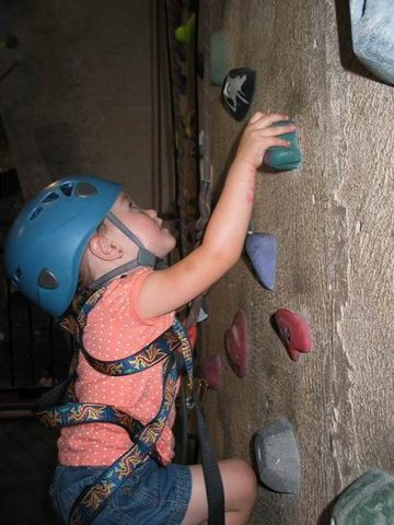Rock Climbing Photo: First time for everything...