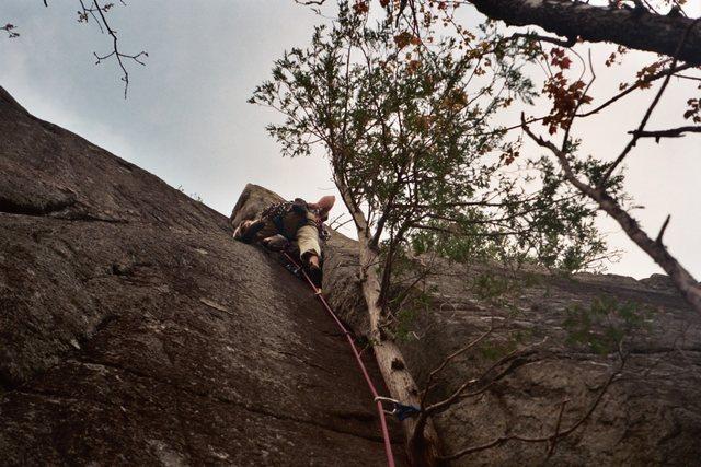 Rock Climbing Photo: Dacks Climbin