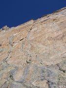 Rock Climbing Photo: Directissima route.