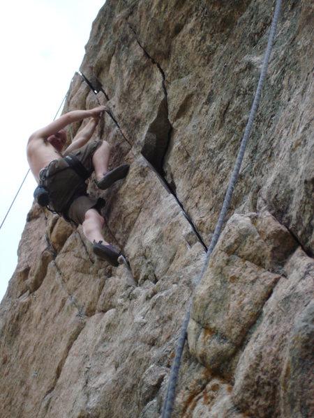 Rock Climbing Photo: John