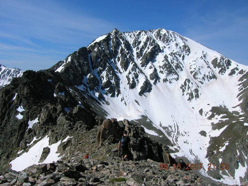 Rock Climbing Photo: June 2007.