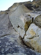 Rock Climbing Photo: View of the climb in its entirety from the belay. ...