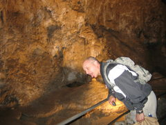 Rock Climbing Photo: The big nip at Carlsbad caverns, 08