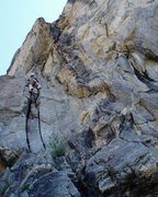 Rock Climbing Photo: Luke on the eponymous (had to look that word up--I...