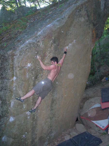 Rock Climbing Photo: from the corner going towrds pods
