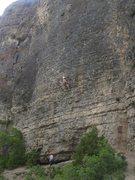 Rock Climbing Photo: Climbing Twist and Shout.