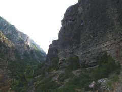 Rock Climbing Photo: A summer evening on Escape Buttress.