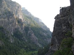 Rock Climbing Photo: A summer evening in American Fork Canyon.