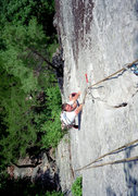 Rock Climbing Photo: Following on the awesome 5.8 cracks of Lichen or L...