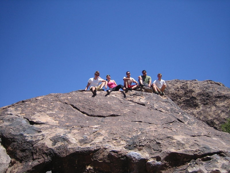 Rock Climbing Photo: Family Climbers Joey, Corinne, Me, Bry, and Woodch...