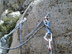 Rock Climbing Photo: Mussyhook™ anchors.