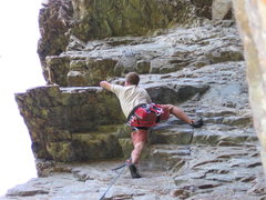 Rock Climbing Photo: Well past the crux and on to the fun part! - Chamb...