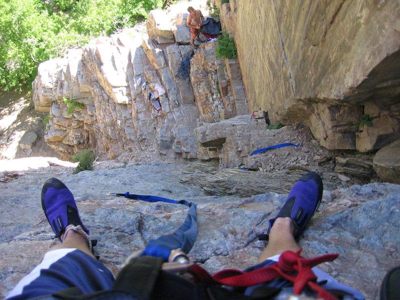 "Rock Climbing Photo: Braden on the ""Photo Pad"" - Goodro's Cra..."