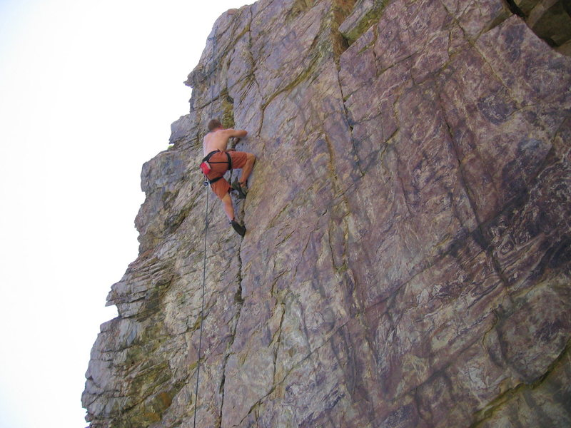 Rock Climbing Photo: Goodro's Crack is just that; a crack...